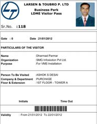 Visitor Long Duration Pass